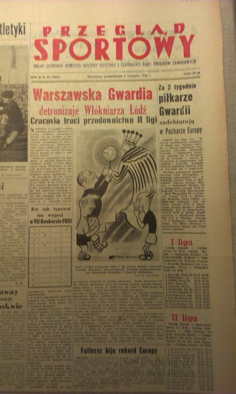 'Gwardia dethrones Wlokniarz'