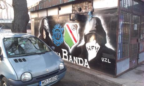 Legia graffiti