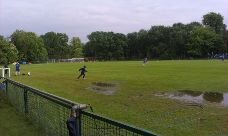 Surface water at Drukarz's ground