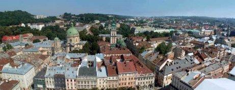 Lviv panorama