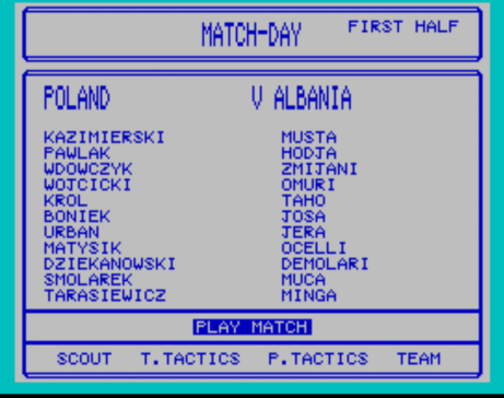 Poland vs Albania