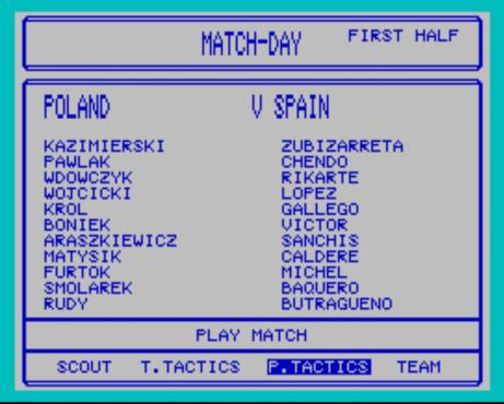 Poland vs Spain