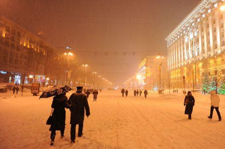 Khreshchatyk_street, Kyiv, Ukraine